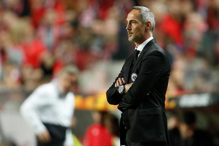 Adi Hutter, treinador do Eintracht Frankfurt