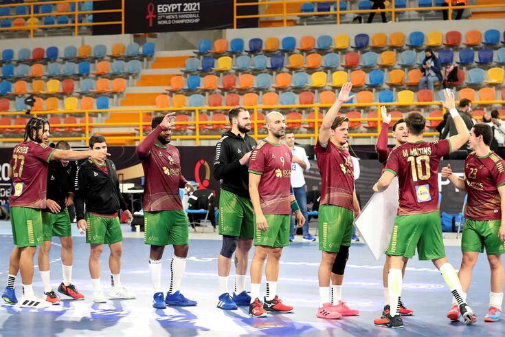 Portugal venceu a Islândia na primeira ronda da fase de grupos do Mundial de andebol