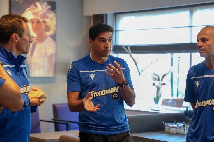Abel Ferreira já entrou ao serviço no PAOK