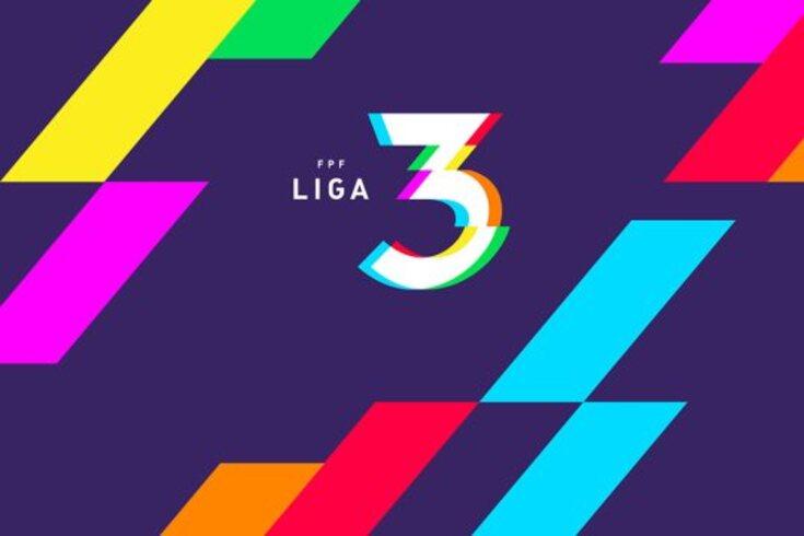 Liga 3: conhecidas as composições das duas séries da primeira fase