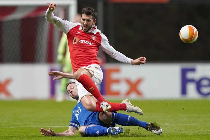 Braga e Leicester empataram (3-3)