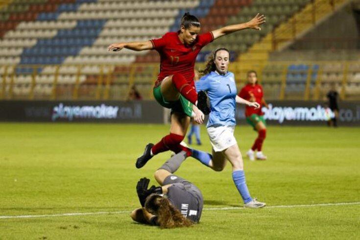 Ana Rute estreou-se pela Seleção Nacional em jogo de apuramento para o Mundial