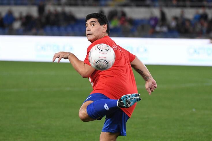 Diego Maradona perdeu a vida aos 60 anos de idade