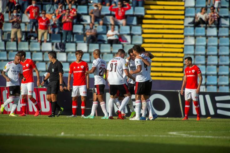 Santa Clara goleado pelo Benfica