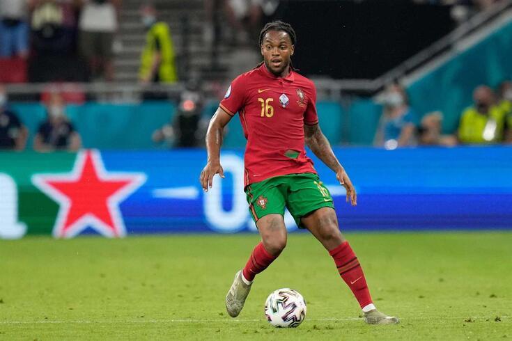 Renato Sanches, médio do Lille e da Seleção Nacional