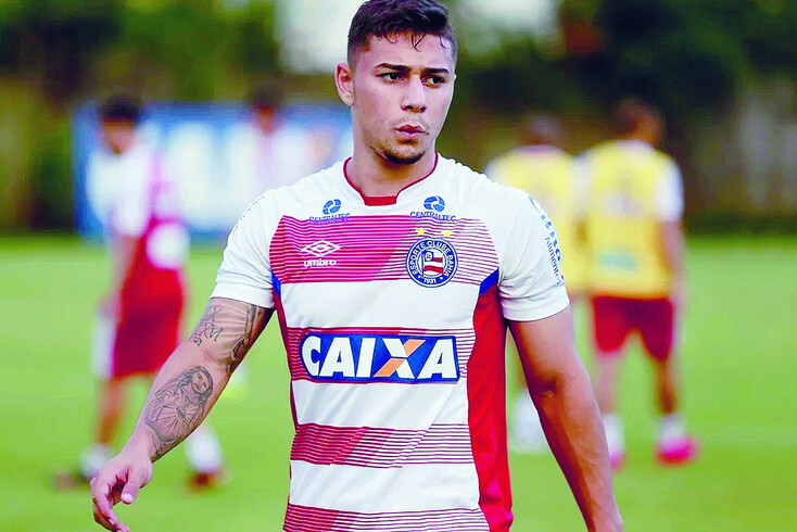 João Pedro, lateral brasileiro cedido pelo FC Porto ao Bahia