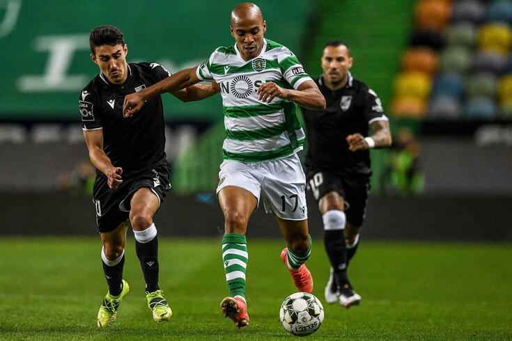 João Mário, médio do Sporting