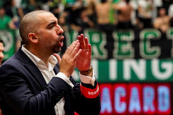 Joel Rocha, treinador do Benfica