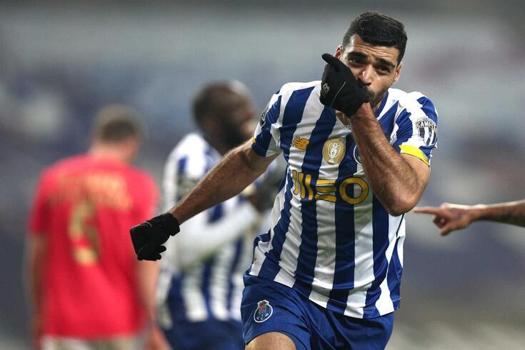 Taremi marcou o golo do FC Porto no clássico com o Benfica (1-1)