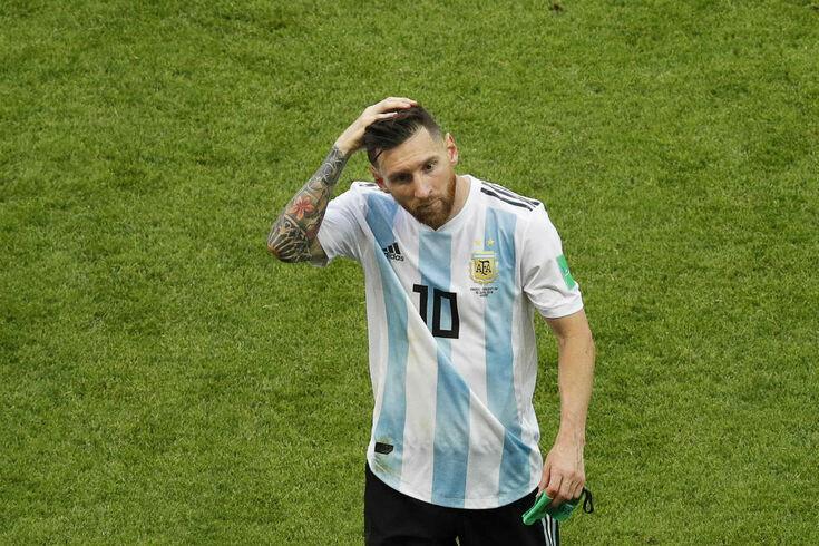 Messi ao serviço da seleção argentina