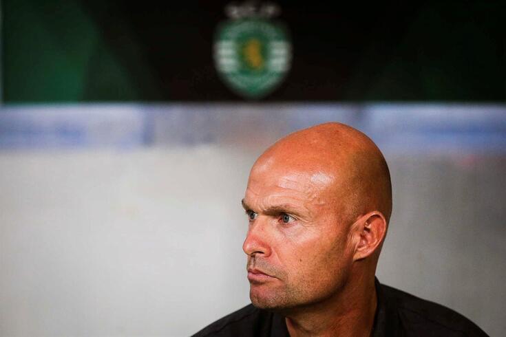 Marcel Keizer, treinador do Sporting.