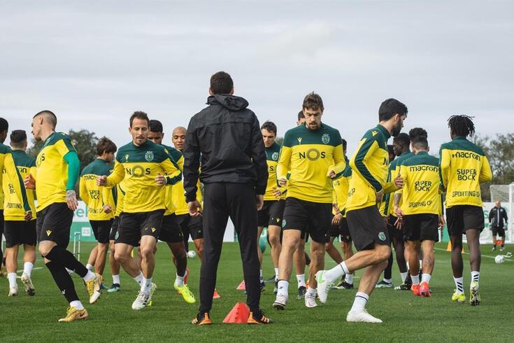 Sporting prepara o clássico de sábado com o FC Porto