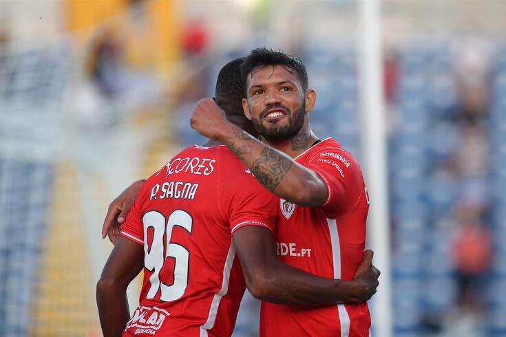 Carlos Júnior marcou um dos golos do segundo triunfo sobre o Shkupi