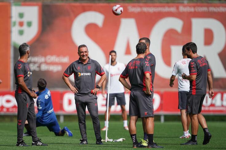 Carlos Carvalhal regressou ao comando técnico do Braga em 2020/21