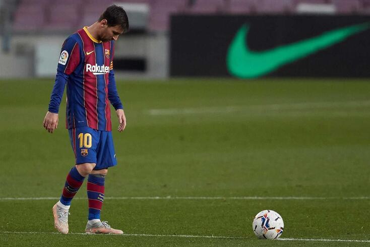Leo Messi, astro argentino do Barcelona