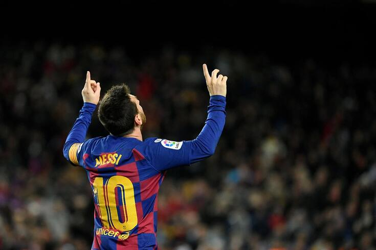Messi deixa a camisola 10 do Barcelona