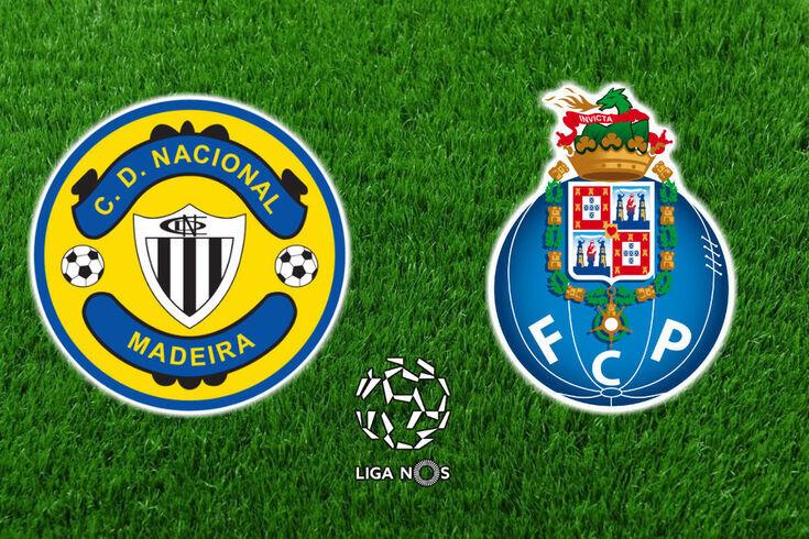 DIRETO | Nacional-FC Porto