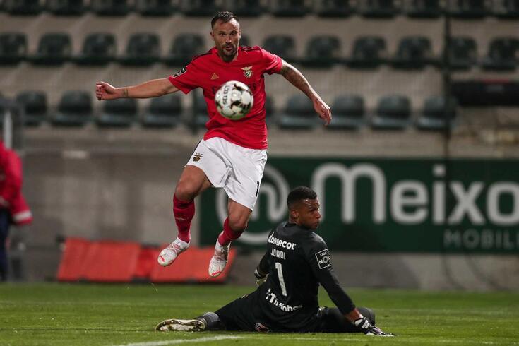 Seferovic bisou no Paços de Ferreira-Benfica