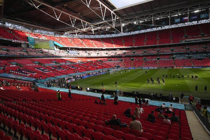 Wembley, um dos palcos do Europeu