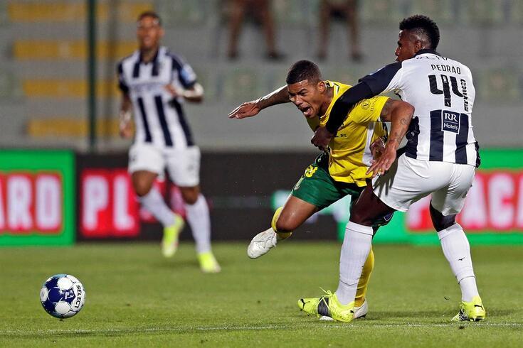 Douglas Tanque disputou 110 jogos e apontou 38 golos pelo Paços de Ferreira