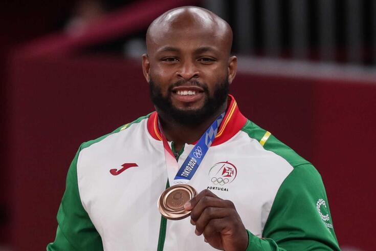 Jorge Fonseca recebeu medalha de bronze em Tóquio