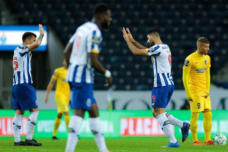 FC Porto recebeu e bateu o Portimonense