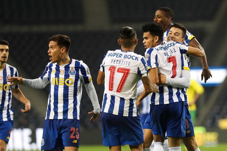 Em 2021/22, Corona, Otávio e Luis Díaz só coincidiram no onze em duas partidas