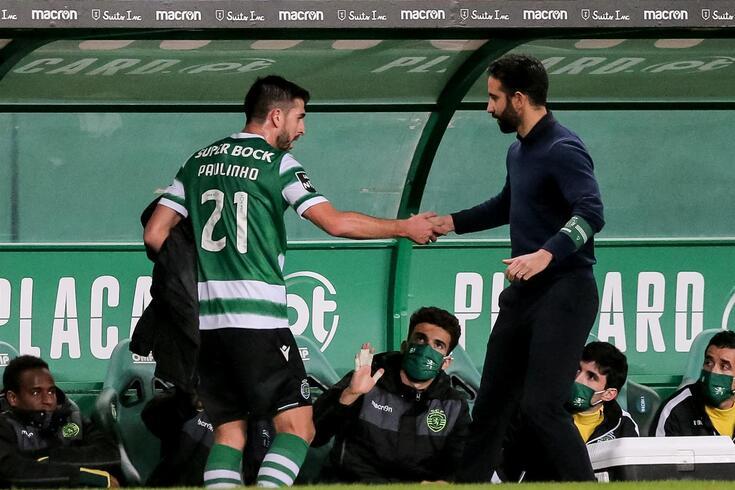 Rúben Amorim ficou sem Paulinho na opções, devido a lesão