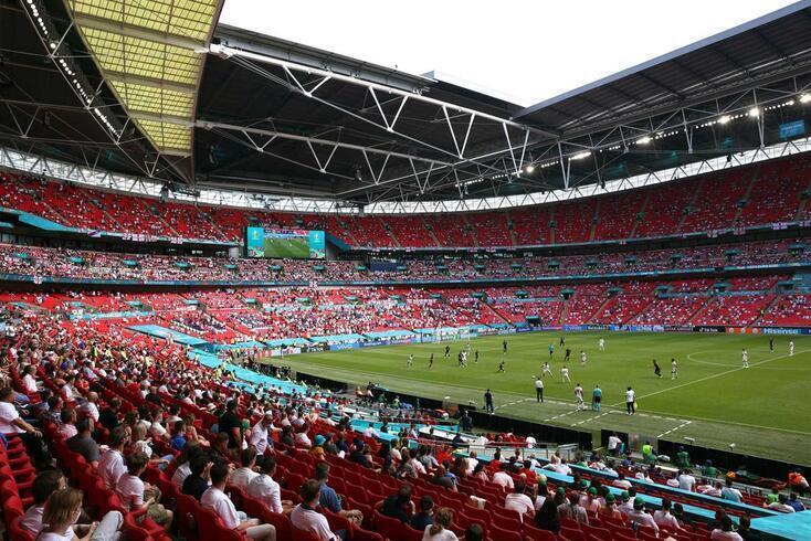 Estádio de Wembley acolheu a final do Euro'2020