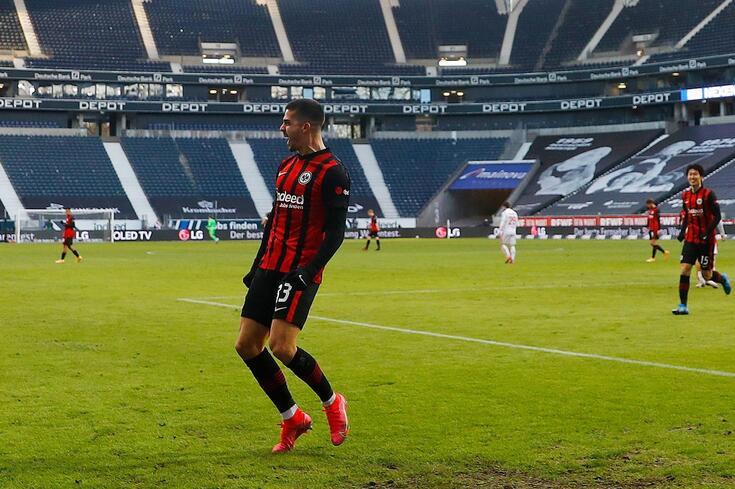 André Silva tem estado em grande na Bundesliga