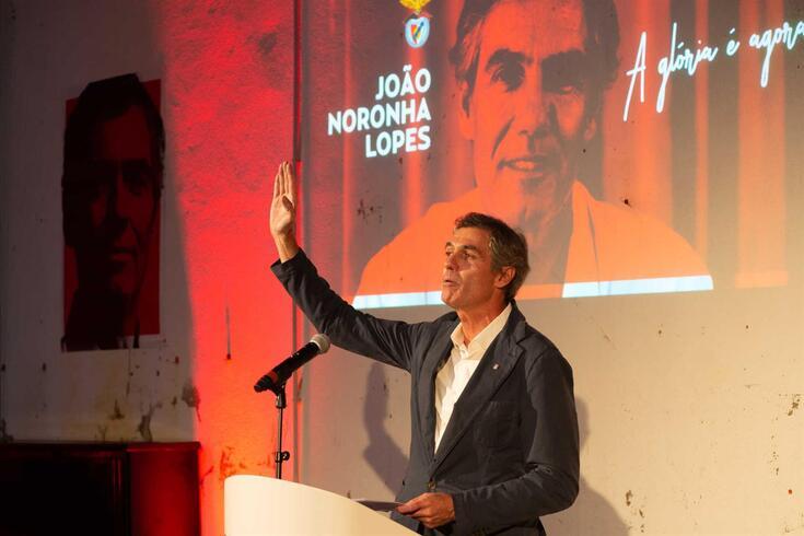 Noronha Lopes, candidato à presidência do Benfica