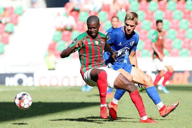 Tomás Ribeiro teve um excelente comportamento no jogo de estreia, frente ao Marítimo