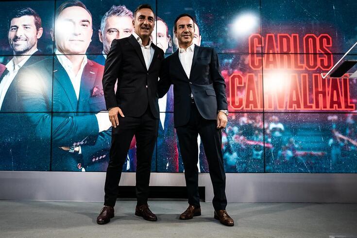 Salvador quer manter Carvalhal por muitos anos