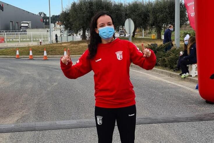Vitória Oliveira, atleta do Braga