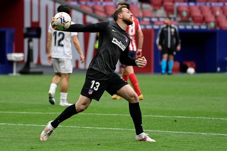 Oblak defende a baliza do Atlético desde a época 2014/15
