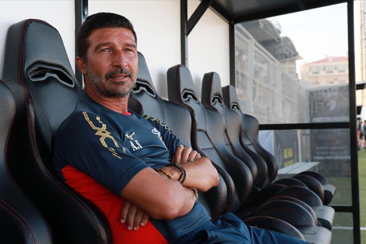 António Folha, treinador do Portimonense