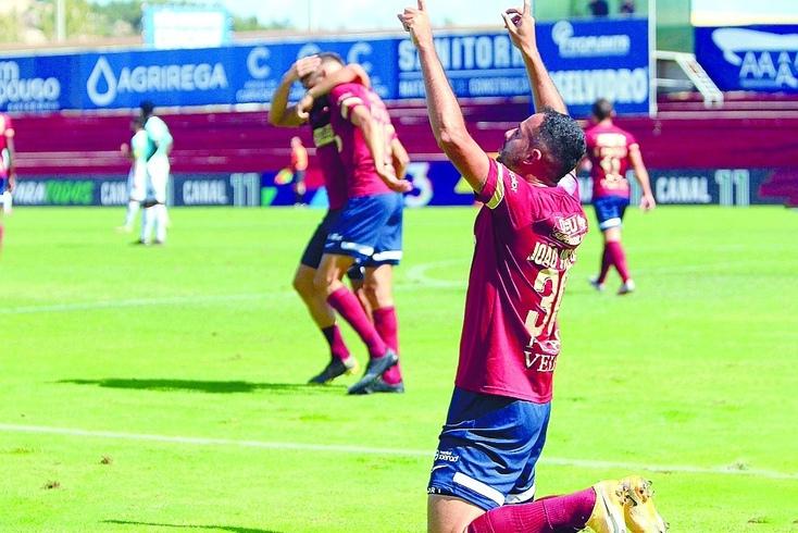 João Victor fez a festa do golo e quer repetir nos próximos jogos