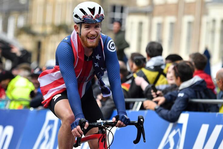 Quinn Simmons, ciclista norte-americano