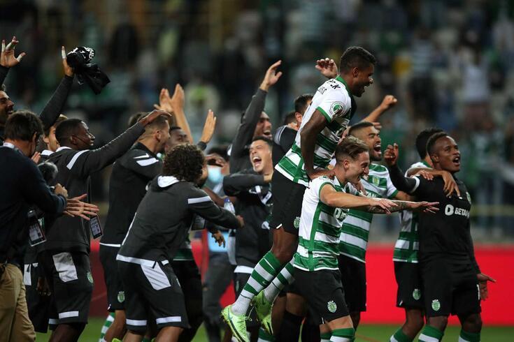 Sporting conquistou a Supertaça