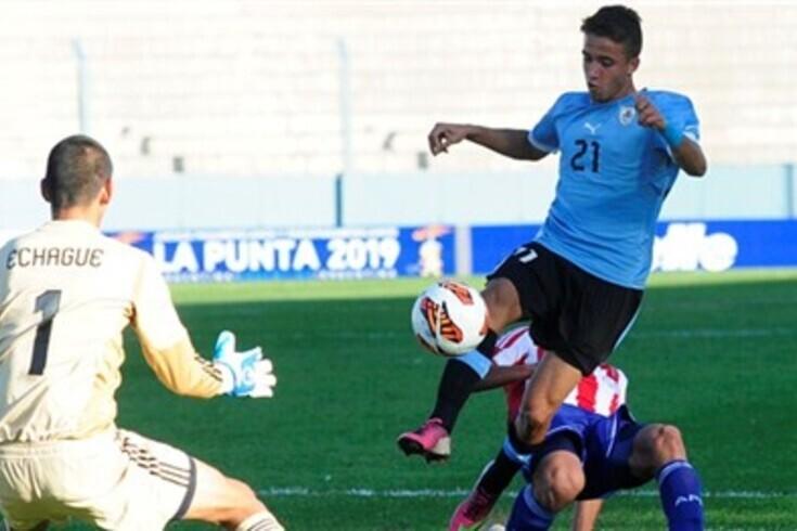 Franco Acosta foi internacional pelas camadas jovens do Uruguai