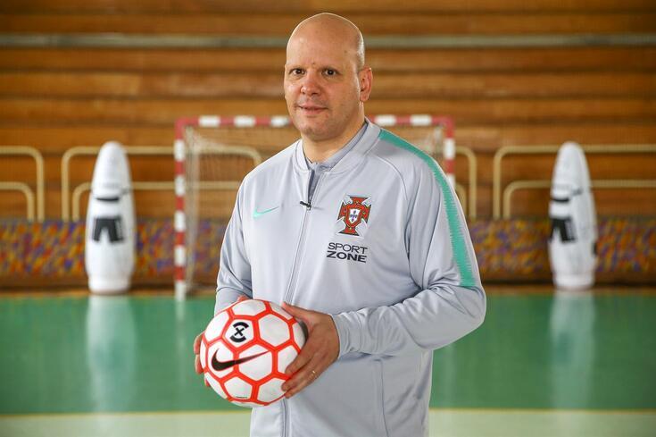 Jorge Braz, selecionador português de futsal