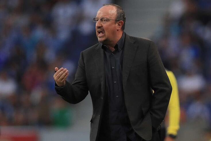 Rafa Benítez vai assumir o leme do Everton