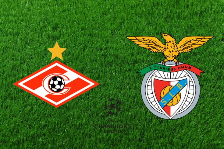 DIRETO | Spartak-Benfica