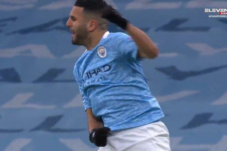 Um passe longo de Ederson e Mahrez abre o marcador no Manchester City-PSG