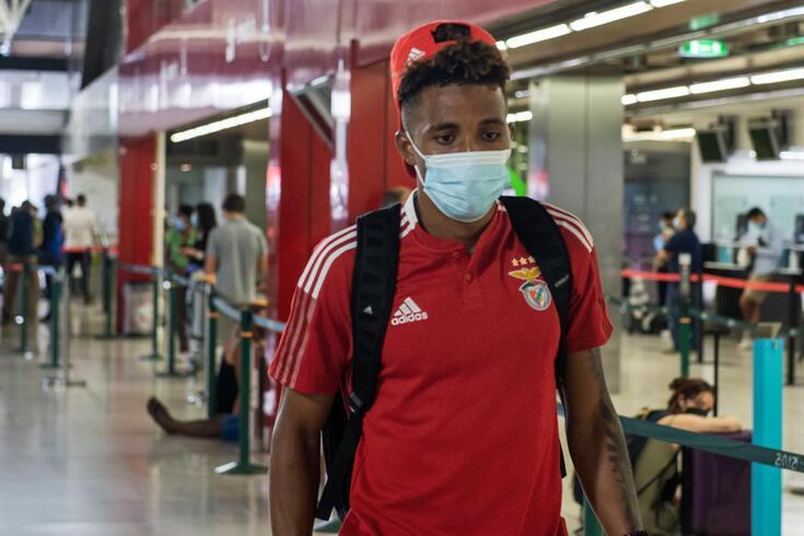 Gedson Fernandes, médio do Benfica