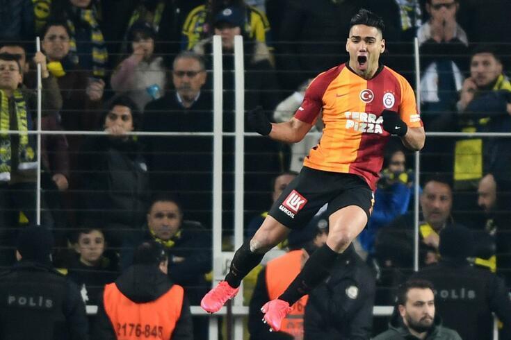 Falcao, avançado do Galatasaray
