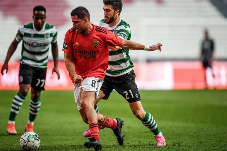 Gabriel, médio do Benfica