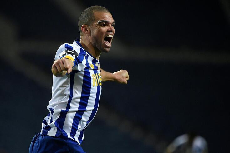 Pepe é uma das referências do FC Porto