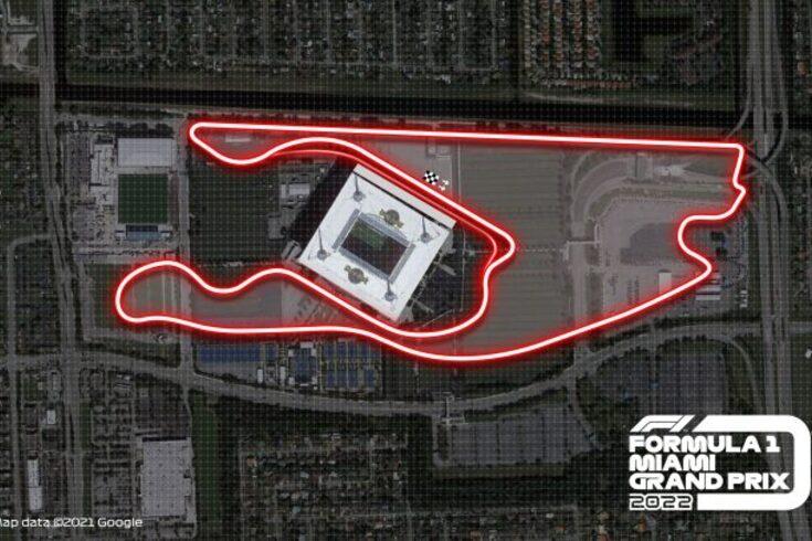 O circuito do GP de Miami