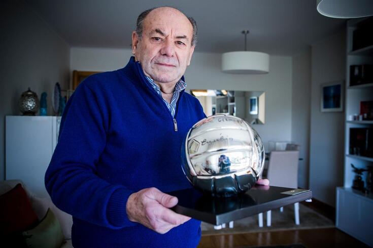 António Simões, velha glória do Benfica